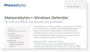 Amplifique o Microsoft Windows Defender e o Security Essentials