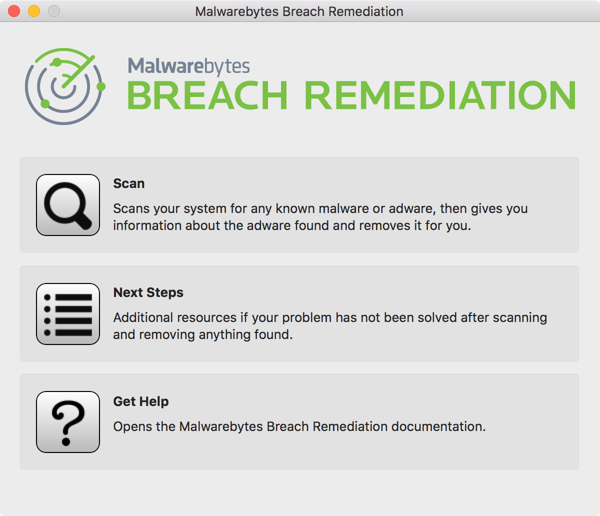 Breach Remediation – Mac