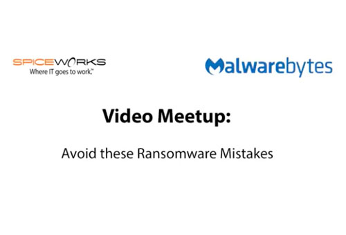 Avoid These Ransomware Mistakes